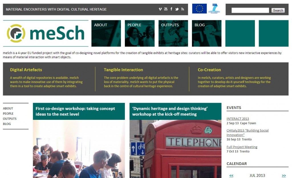 The new and improved meSch website