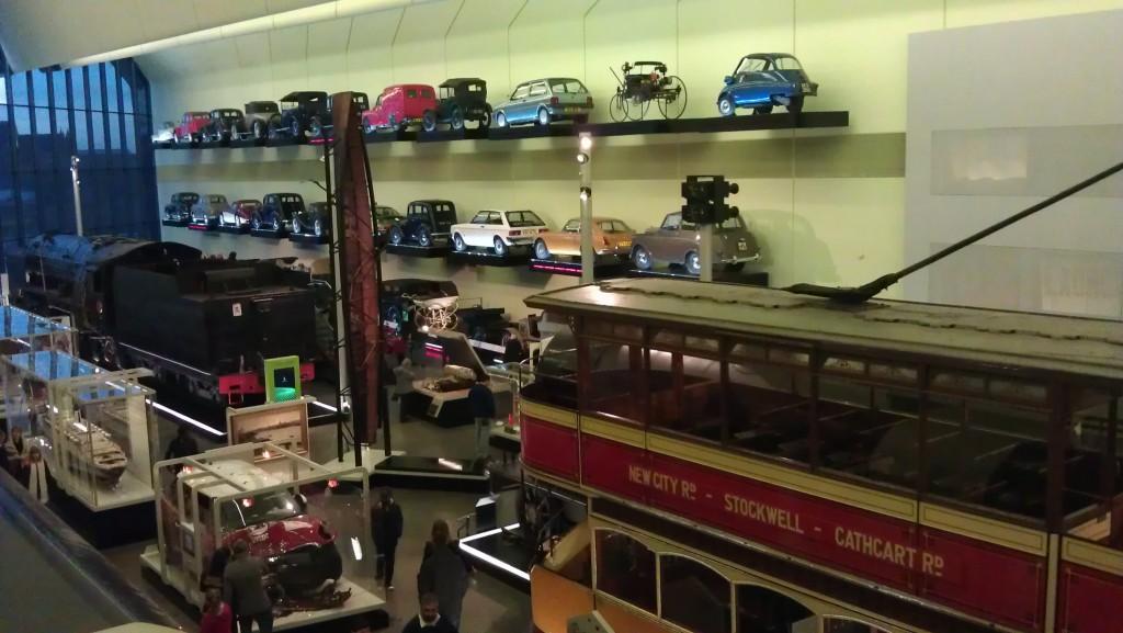 Inside the Riverside Transport Museum