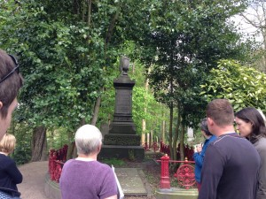 Historical guided tour at Sheffield General Cemetery
