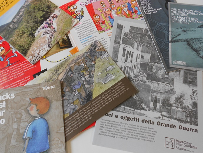 Personalized itineraries for different audiences currently available at Museo Della Guerra