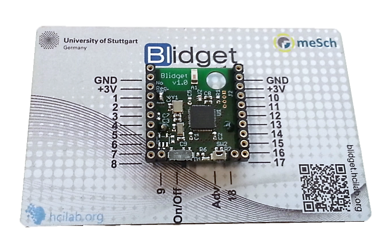 Blidget is a tiny, Web browser programmable always-on platform for easy creation of smart objects and environments.