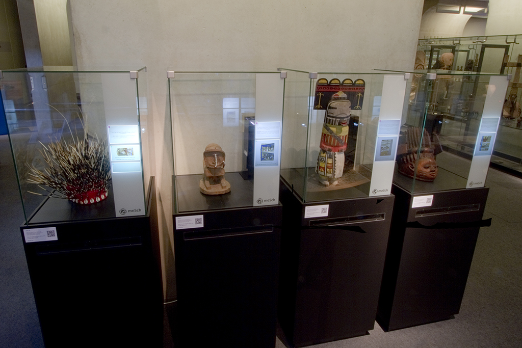 Interactive display cases